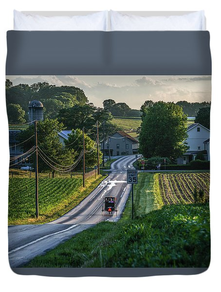 Speed Limit Duvet Cover