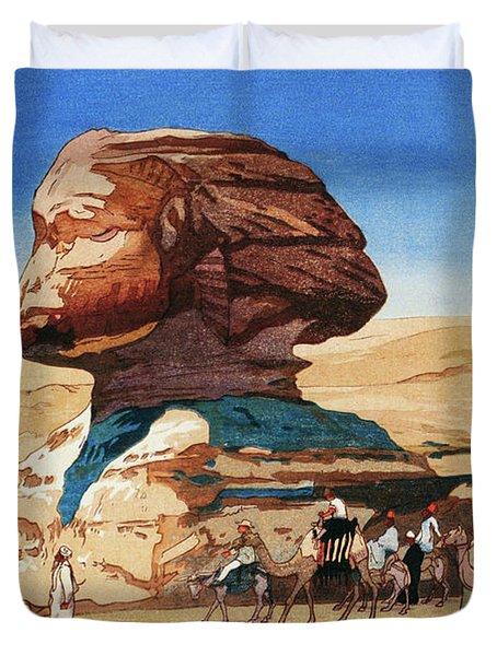 Sphinx - Digital Remastered Edition Duvet Cover