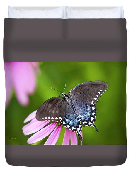 Spice Of Life Butterfly Duvet Cover