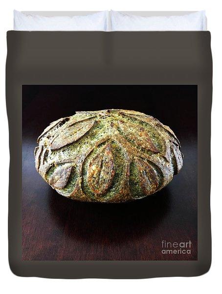 Spicy Spinach Sourdough 2 Duvet Cover