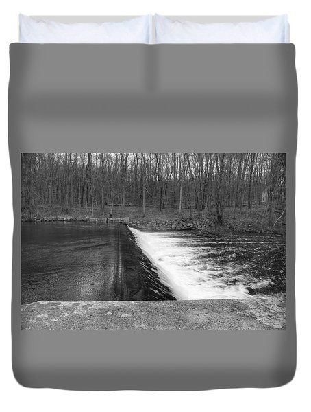 Spillway At Waterloo Village Duvet Cover