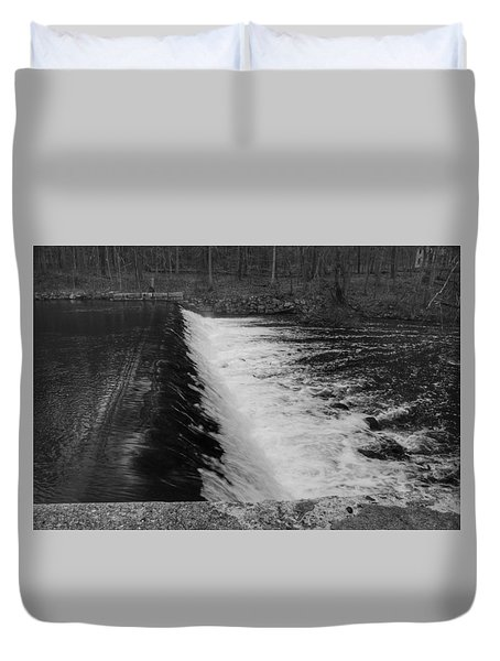 Spillway In Detail - Waterloo Village Duvet Cover