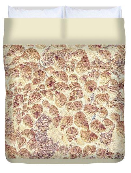 Spiral Seaside Duvet Cover