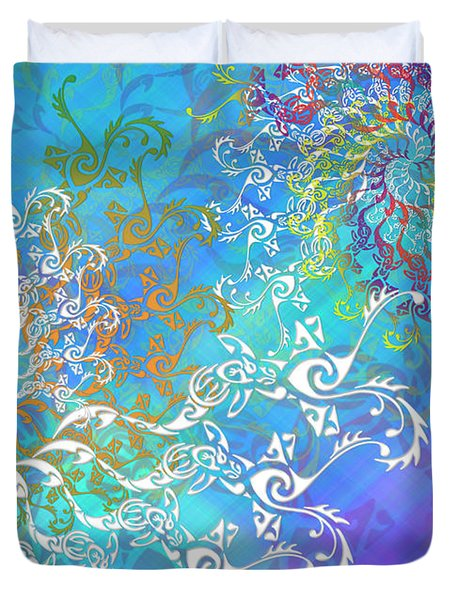 Spirals Duvet Cover