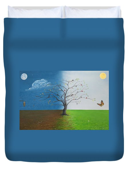 Spirit Of Eden Duvet Cover