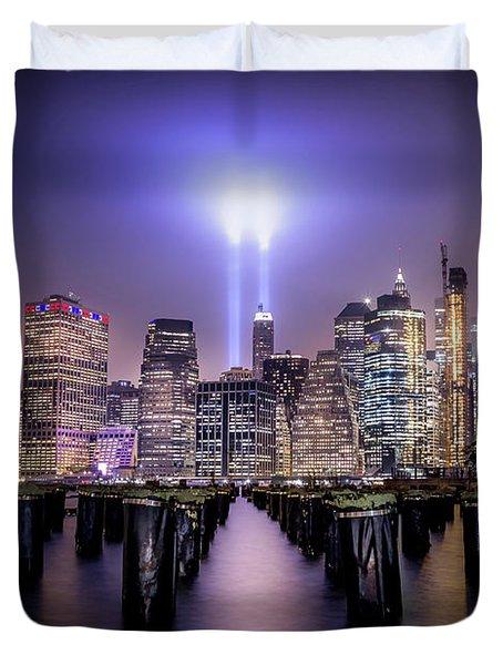 Spirit Of New York II Duvet Cover