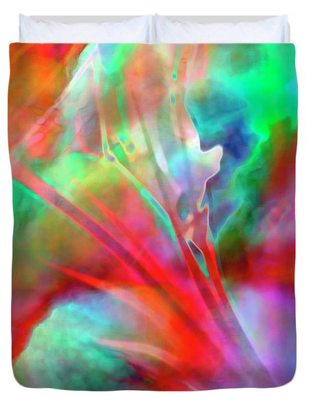 Splendor - Custom Version 1 - Abstract Art Duvet Cover