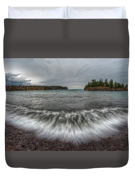 Split Rock Lighthouse State Park Duvet Cover