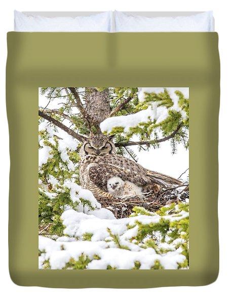 Spring Caregiver Duvet Cover