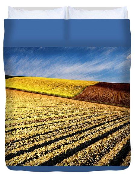 Spring Fields Duvet Cover