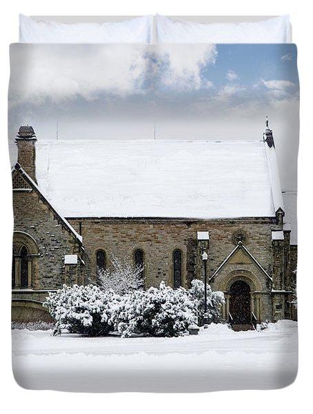 Spring Grove Chapel Duvet Cover