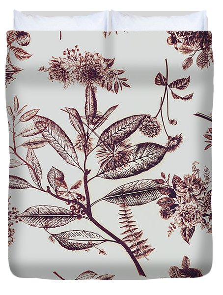 Spring Ink Duvet Cover