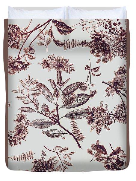 Spring Ink Duvet Cover