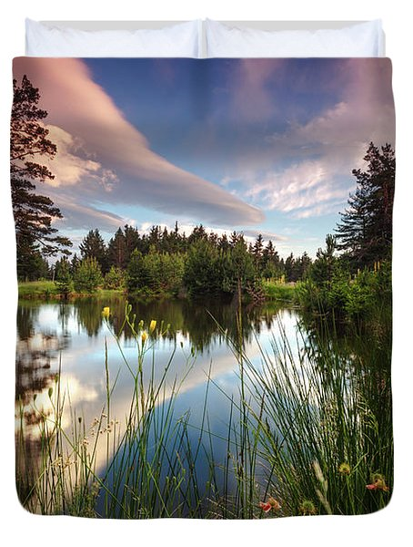 Spring Lake Duvet Cover