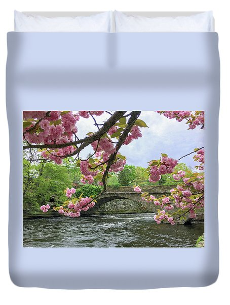 Spring Time In Windham  Duvet Cover