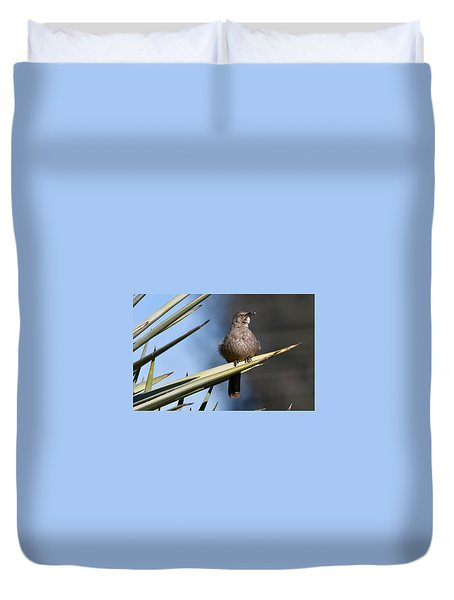 Squawker Duvet Cover