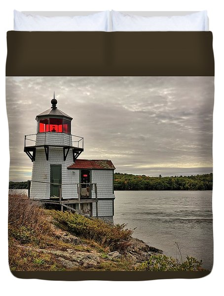 Squirrel Point Light Duvet Cover