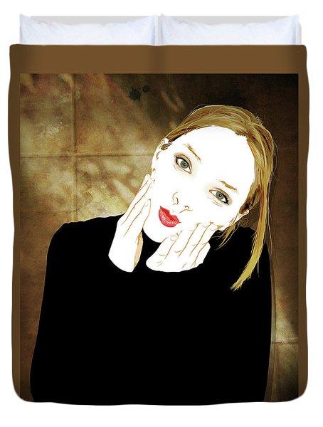 Squishyface Duvet Cover