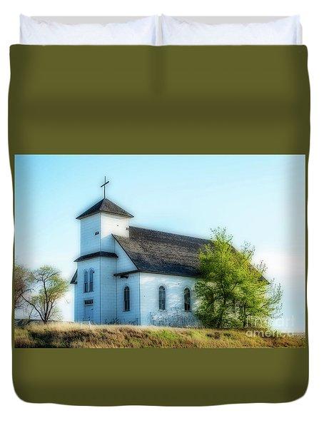 St. Agnes. Church Duvet Cover