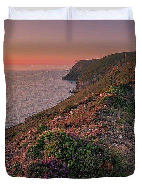 St Agnes Sunset Duvet Cover
