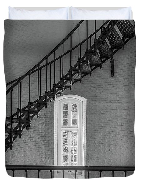 St Augustine Lighthouse Duvet Cover
