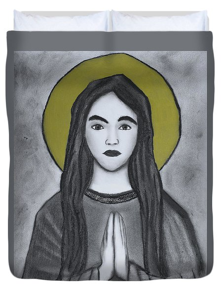 St. Philomena Duvet Cover