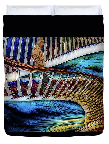 Stairway To Perdition Duvet Cover
