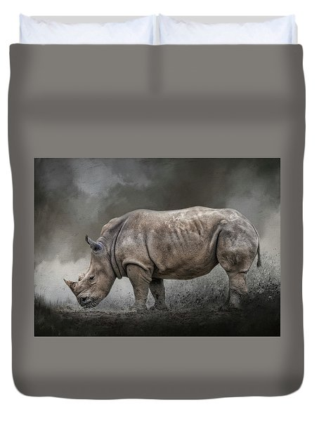 Stand Strong Duvet Cover