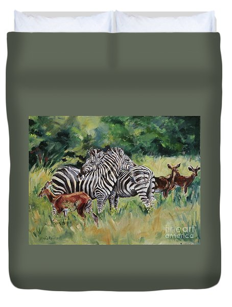 Stand Together Duvet Cover