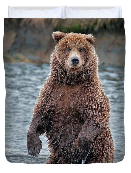 Standing Bear   Duvet Cover