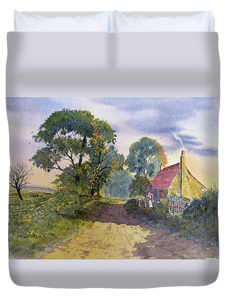 Standing In The Shadows Duvet Cover