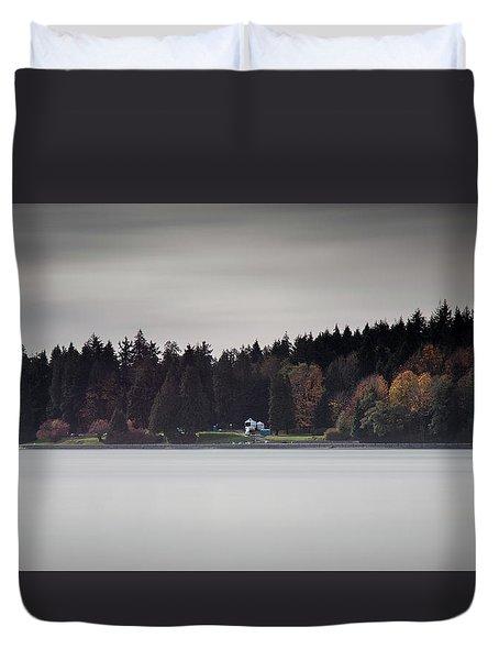 Stanley Park Vancouver Duvet Cover
