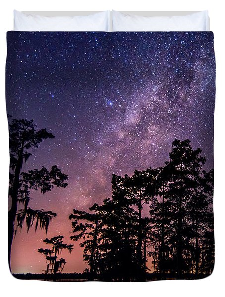 Duvet Cover featuring the photograph Star Bright by Andy Crawford