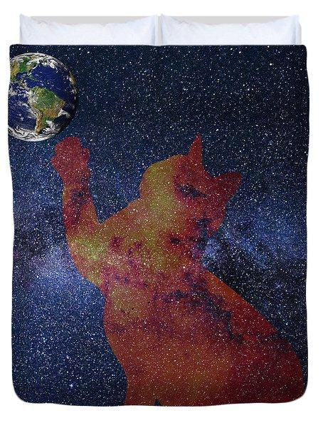 Star Cat Duvet Cover