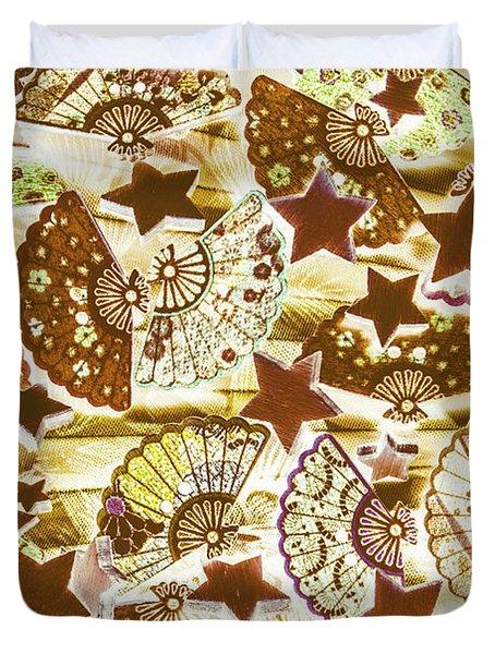 Star Dance Duvet Cover