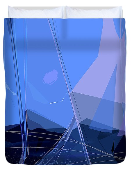 Starboard Duvet Cover