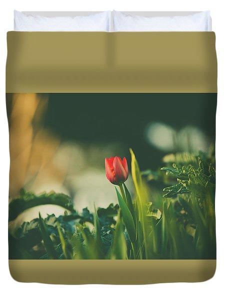 Start Of Spring Duvet Cover