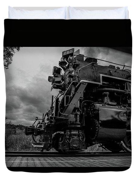 Steam Loco 765 Duvet Cover