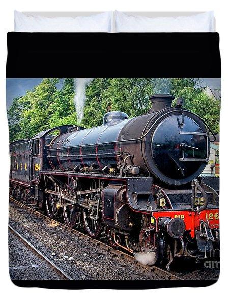 Steam Locomotive 1264 Nymr Duvet Cover