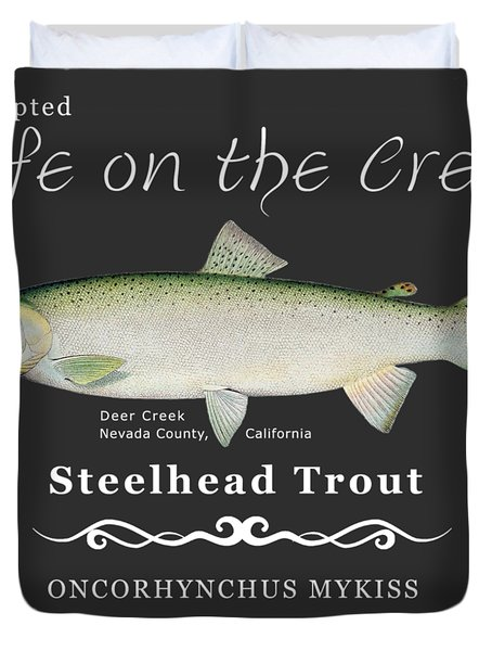 Steelhead Trout Duvet Cover
