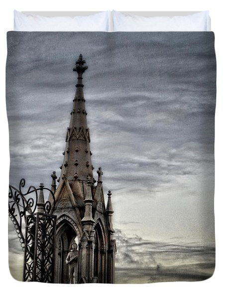 Steeple And Steel Duvet Cover