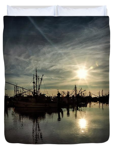 Steveston Silhouette Duvet Cover