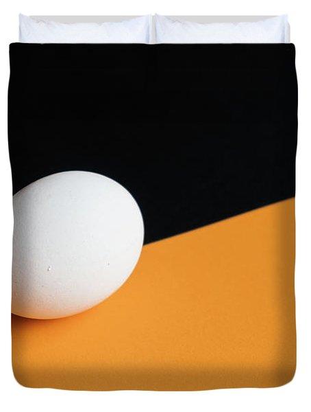 Still Life With Egg Duvet Cover