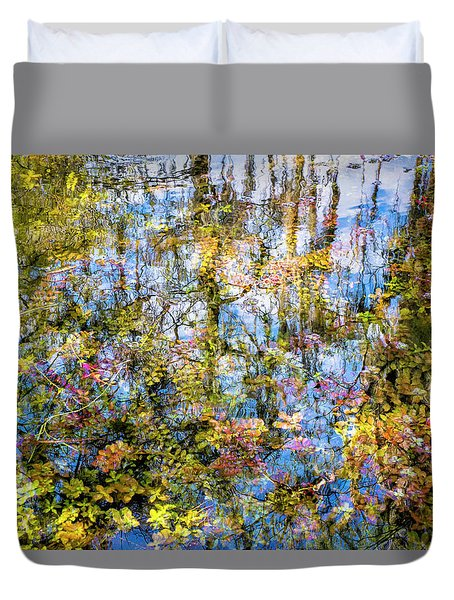 Stillness Holds Everything Duvet Cover