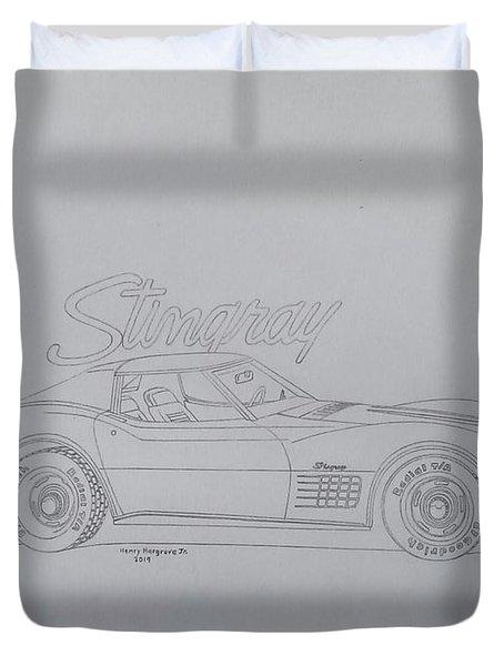 Stingray Duvet Cover