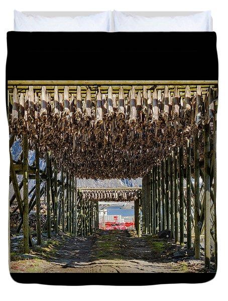 Stockfish Duvet Cover