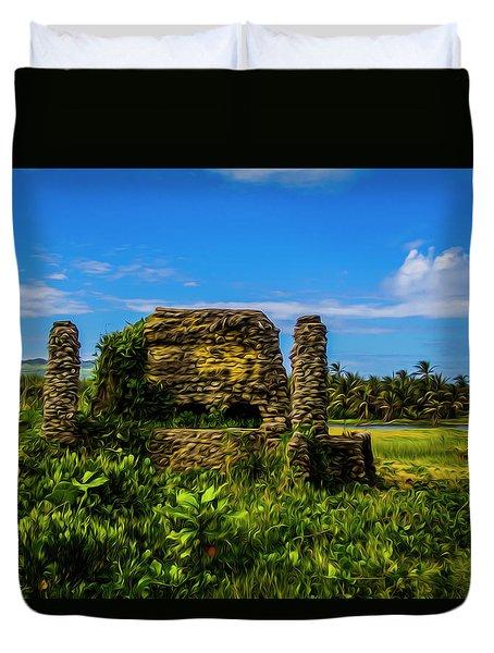 Stone Oven Duvet Cover