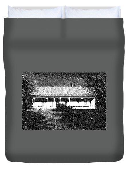 Stonecypher House Duvet Cover