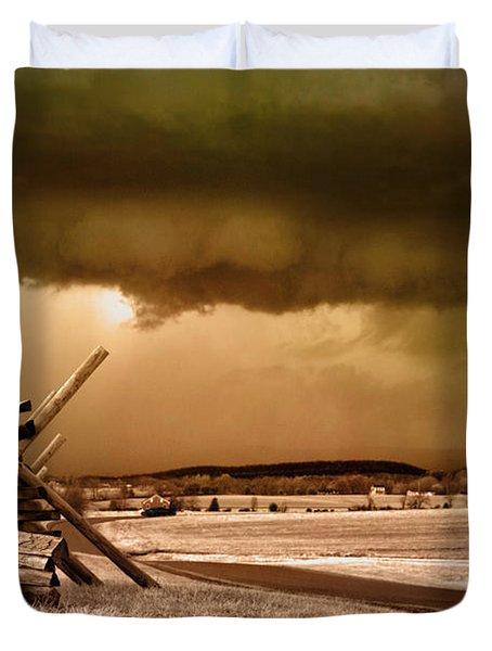 Storm Brewing Duvet Cover