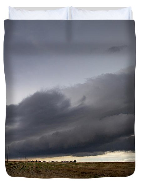 Storm Chasin In Nader Alley 004 Duvet Cover